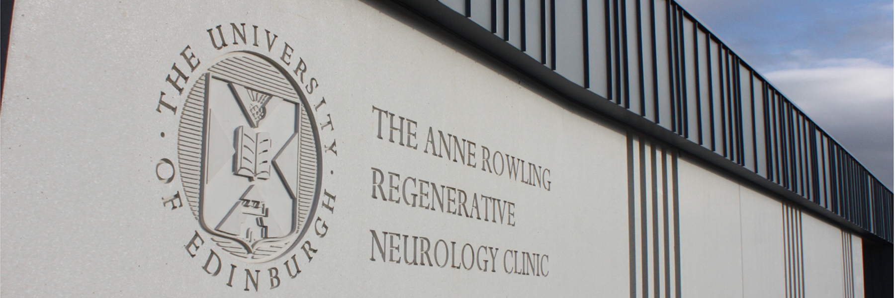 Exterior shot of Anne Rowling Regenerative Neurology Clinic