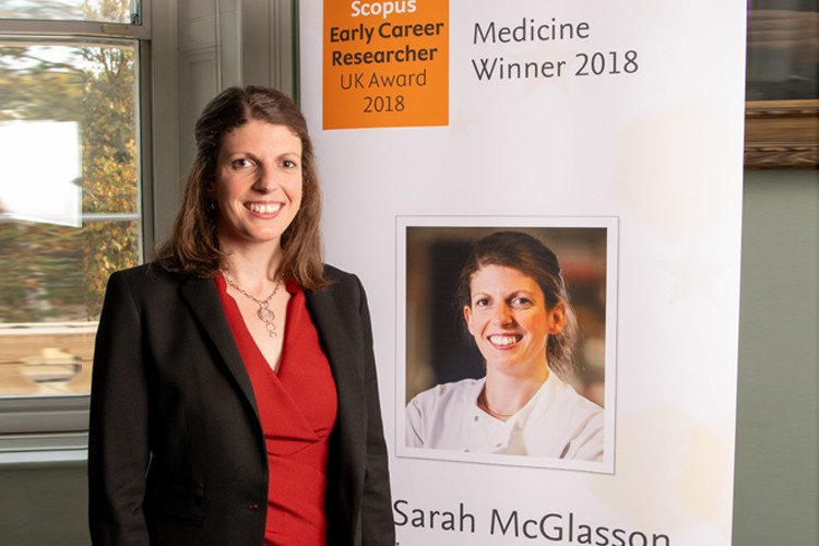 Award winner Sarah McGlasson